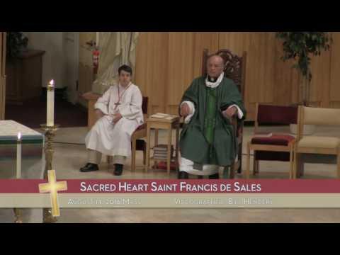 8/14/16 - Sacred Heart Saint Francis de Sales