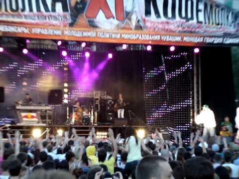 Карандаш - Встречай Москва (live)