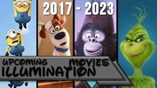 Upcoming illumination Movies 2017-2023