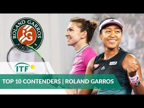 Top 10 French Open Contenders | Women's Singles | Roland Garros 2019