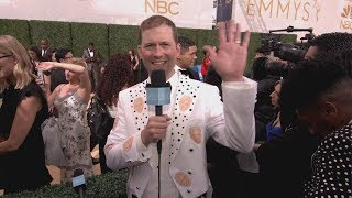 Andy Zenor Woke Up at the 2018 Primetime Emmys