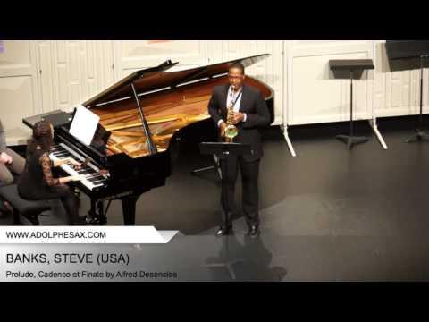 Dinant 2014 - BANKS Steven (Prelude, Cadence et Finale by Alfred Desenclos)