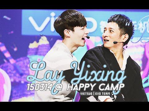 [Vietsub] 150314 Happy Camp (Trương Nghệ Hưng, Kiều Nhậm Lương & Huỳnh Hiểu Minh) [EXO Team]