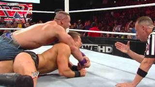 Raw: John Cena vs. The Miz