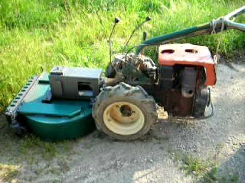 Tagliaerba trincia per motocoltivatore for Bcs con trincia
