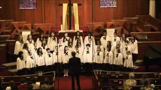 Gloria Patri  (Glory Be to the Father) By Palestrina - The Salt Lake Children's Choir