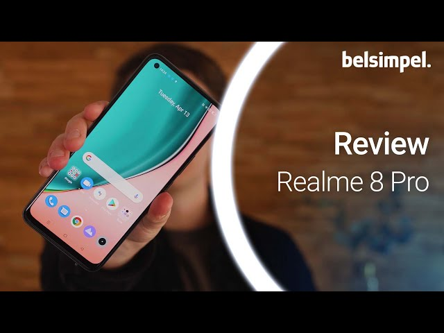 Belsimpel-productvideo voor de Realme 8 Pro 128GB Zwart