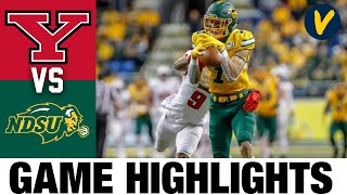 Youngstown State vs North Dakota State Highlights  2021 Spring FCS College Football Highlights