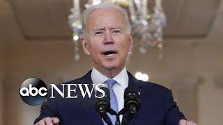 Biden defends US troop withdrawal from Afghanistan l WNT