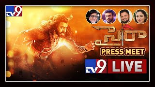 Sye Raa Movie Team Press Meet LIVE- Chiranjeevi, Amitabh, ..