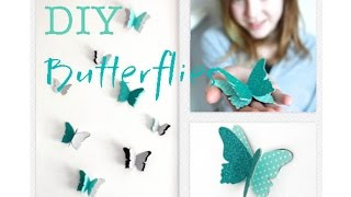 DIY Butterfly Wall Decals | Decorations That Impress