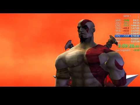 GOD OF WAR 1 - SPEEDRUN VERY HARD SEM BUG