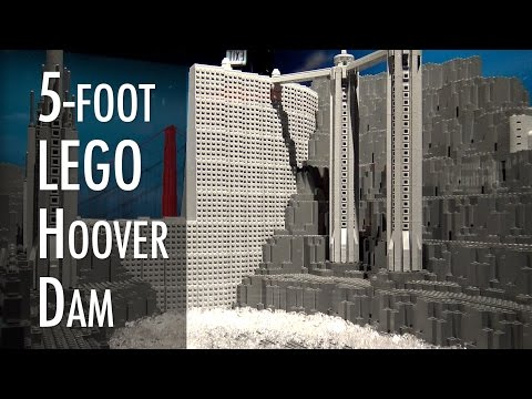 LEGO Hoover Dam | Museum of Science and Industry