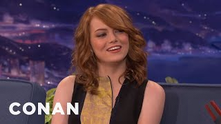 Emma Stone Is Funnier As A Redhead - CONAN on TBS