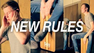 Dua Lipa - New Rules   Cajon Cover by Ross McCallum