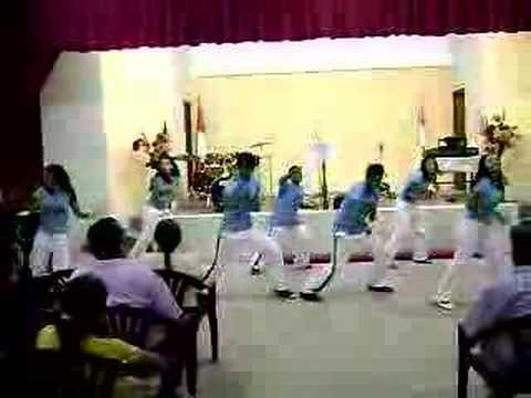 coreografias cristianas  todopoderoso