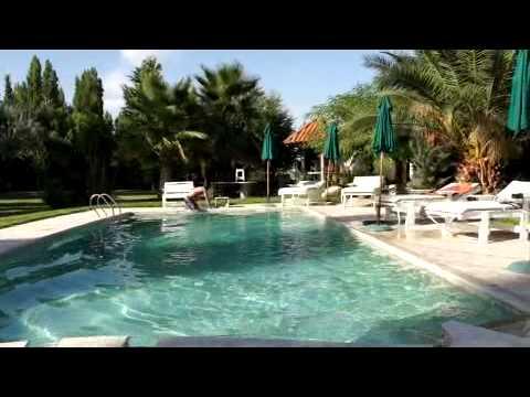 Pool at Quinta Anabtawi Villa, Mendoza Argentina