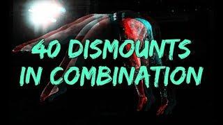 40 DISMOUNTS in COMBINATION on BEAM