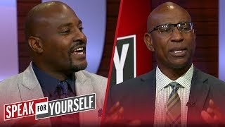 Eric Dickerson weighs in on the backlash he's faced since HOF protest | NFL | SPEAK FOR YOURSELF