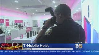 Thousands Of Dollars In Devices Stolen During Concord T-Mobile Store Heist
