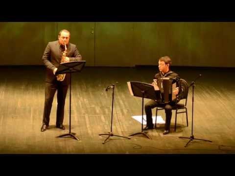 8 airs autour du tango (Nos. 1&2) G. Beytelmann - Alexander Strelyaev - saxophone, I Puritz - bayan