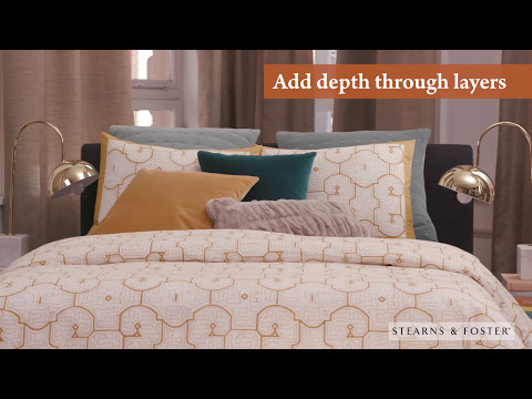 Home design expert, Jonathan Scott shares his tips, tricks and philosophy on how to design a luxurious bedroom retreat with the Stearns & Foster® Reserve mattress at the centerpiece