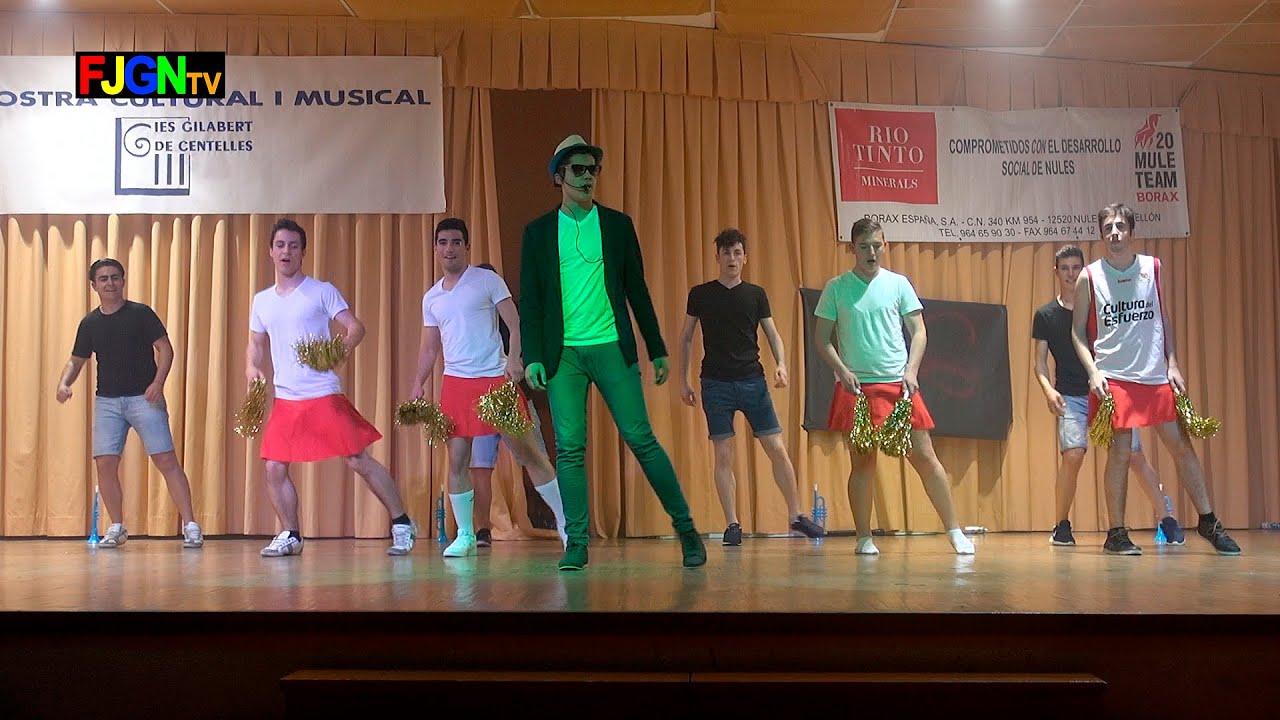 13. El principe de Bell Air/Cheerleader/Los gorilas - Bailes Educacion Fisica 2016 IES Nules