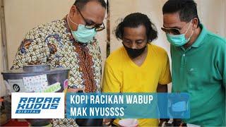 Wabup Rembang Jadi Barista Kopi