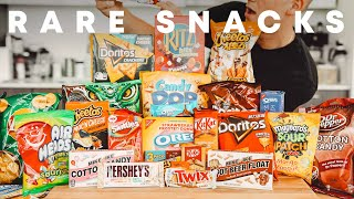 Trying Rare Snacks and Drinks