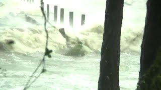 Terrell Forney feeling effects of Hurricane Michael in Apalachicola