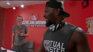 Hard Knocks: Dez Bryant Browns Visit