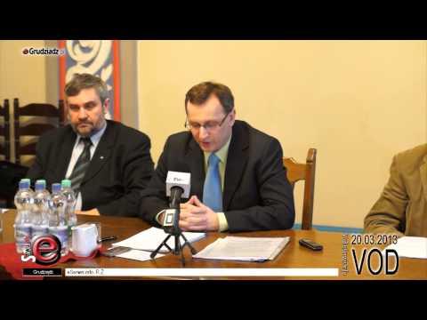Konferencja radnych Grudziądza, Województwa i posła Ardanowskiego - cała konferencja