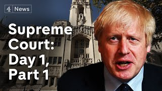 Supreme Court parliament suspension hearing: LIVE | Session resumes at 2pm |Brexit