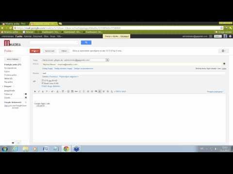 Google Apps - Prilaganje datoteka u Gmailu