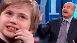 Out of Control Fortnite Kid Goes To The Ranch  - Dr Phil