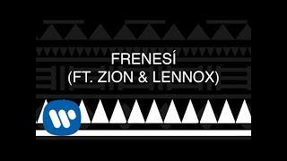 Piso 21 - Frenesí (feat. Zion & Lennox) [Official Lyric Video]