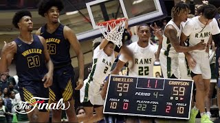 State Championship COMES DOWN TO FINAL SHOT! Grayson V Wheeler CONTROVERSIAL ENDING! INSTANT CLASSIC