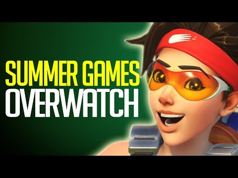 "Overwatch - Summer Games Patch ""New Exclusive Skins, Voice Lines,  Highlight Intros & More"""