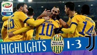 Hellas Verona - Juventus 1-3 - Highlights - Giornata 19 - Serie A TIM 2017/18