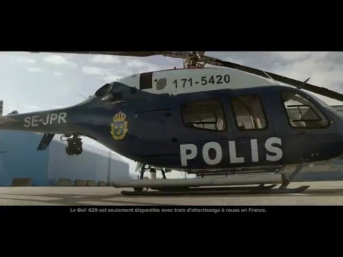Swedish National Police - Bell 429 Delivery