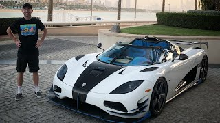 Taking the Koenigsegg to the only 7 Star Hotel in the World