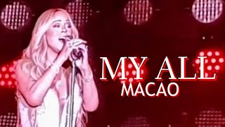 My All - Mariah Carey (Live in Macao 2018)