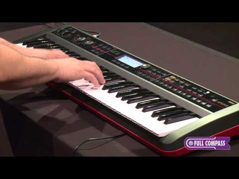 Korg KROSS Workstation Keyboard/Synthesizer Overview | Full Compass