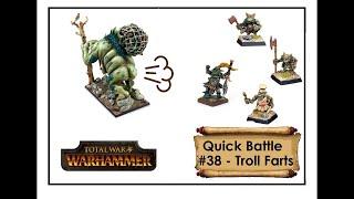 Trolls farting on Chaos - Total War Warhammer Quick Battle #38