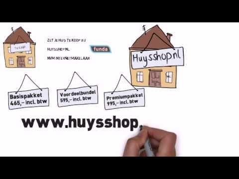 Huysshop: Zelf je huis verkopen