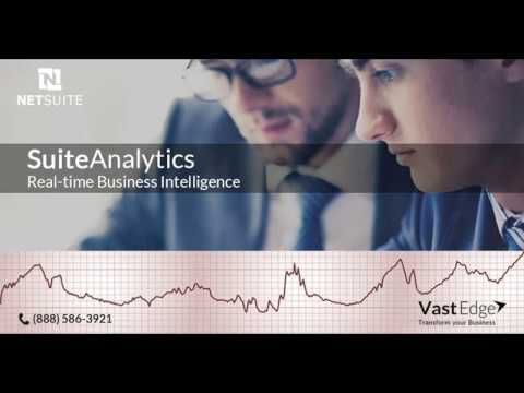 NetSuite Cloud Business Software Solutions - VastEdge
