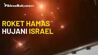 Luncurkan Serangan Balasan atas Gempuran Israel, Hamas Hujani Tel Aviv dengan Roket