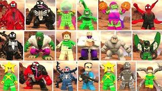 Evolution Of Spider Man In Lego Marvel Videogames 2013 2017