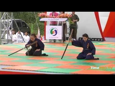 Chungju World Martial Arts Festival - Iaido. The team from Japan