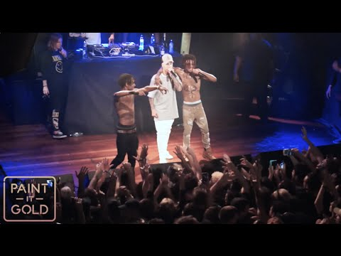 Rae Sremmurd & Justin Bieber - 'What Do You Mean?' / 'No Type' - Auckland, NZ